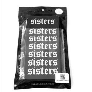 Sisters Apparel Black IPhone 7+/8+ Phone Case